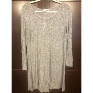 ••⭐️Gray Sweater Dress⭐️••
